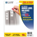 Binder Labels 2 1/4x3in Self Adhesive For 4-5in Binders