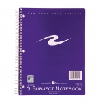 Spiral Notebook 3 Subject 120 Pages