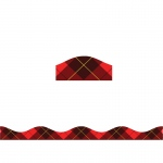 Big Magnetic Border Red Plaid