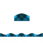 Big Magnetic Border Blue Plaid