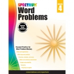 Spectrum Gr4 Word Problems Workbook