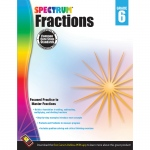Spectrum Gr6 Fractions Workbook