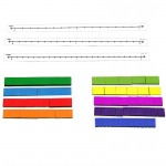 Fraction Tile Number Line Set