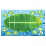 Froggy Ten-Frame Floor Mat