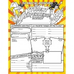 Student Superheroes Activity Poster Fill Me In
