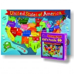 United States Jigsaw Puzzle For Kid