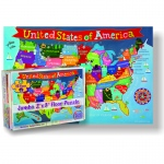 United States Floor Puzzle For Kids