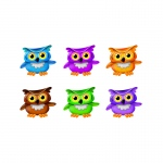 Bright Owls Mini Accents Variety Pk Decorations