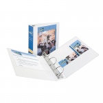 3in Capacity White View Binder