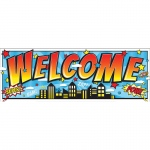 Superhero Magnetic Welcome Banner