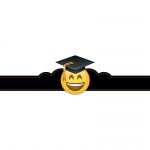 Emoji Fun Graduation Crowns