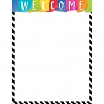 Bold Bright Welcome Chart