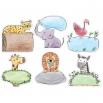 10in Safari Friends Designer Cutout