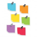 3in Bold Bright Sticky Notes Cutout