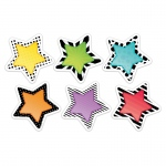 3in Bold Bright Stars Cutouts Designer