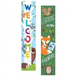 Woodland Friends 2 Sided Banner