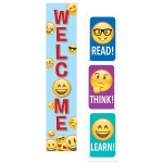 Emoji Fun 2 Sided Banner