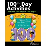 100th Day School Activity Bk Gr K-1