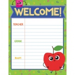 Welcome Chartlet Gr Pk-3 Decorative