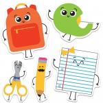 School Tools Cutout Asst Gr Pk-5