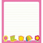 Hello Spring Shape Notepad Gr Pk-8