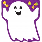Halloween Shape Notepad Gr Pk-8