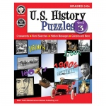 Us History Puzzles Book 3 Gr 5-8