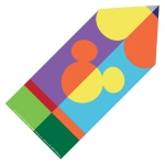 Geo Mickey Pencil Paper Cut Outs