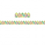 Sharp Bunch Diamond Trim Extra Wide Die Cut Pattern Deco