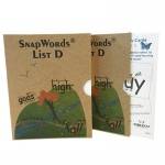 Snapwords Teaching Cards List D