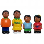 Hispanic Family Figure Set