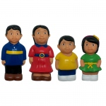 Asian Family Figure Set