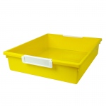 6qt Yellow Tattle Tray Wlabel Hold