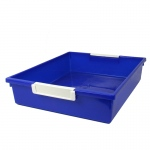 6qt Blue Tattle Tray Wlabel Holder