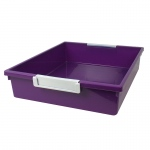 6qt Purple Tattle Tray W Label Hold