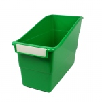 Romanoff Green Shelf File With Label Holder Standard