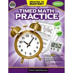 Minutes To Mastery Timed Math Gr 5 Practice