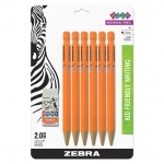2 Hb 2mm Mech Pencil 6pk 1 Eraser Starters