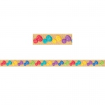 Sm Bold/bright Pushpin Magnet Strip Decor