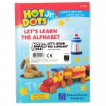 Hot Dots Jr Alphabet Set Of 5 Books Lets Learn