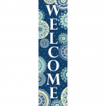 Blue Harmony Welcome Banner