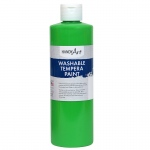 Fluorescent Green Tempera Paint Handy Art Washable