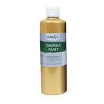 16oz Metallic Gold Tempera Paint Handy Art