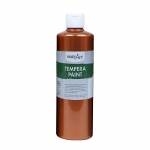 16oz Metallic Copper Tempera Paint Handy Art