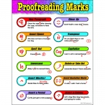 Chart Proofreading Marks Gr 3-6 17 X 22