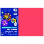 Tru Ray 12 X 18 Red 50 Sht Construction Paper