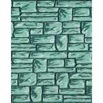Corobuff Patterns Flagstone 12 1/2 Ft Roll