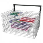American Educational Spring Loaded Wall Mounted Drying Rack