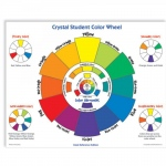 American Educational Crystal Student Color Wheel Desk Ref
