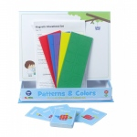 American Educational Patterns & Colors Magnetic Activity Set
